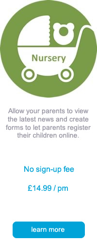 nursery school web sites